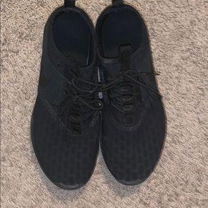 Nike Juvenates (all black sneakers)